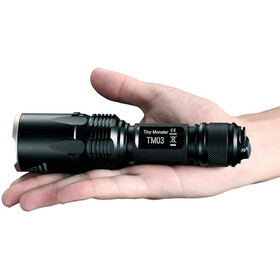 NITECORE TM03 Linterna LED, negro
